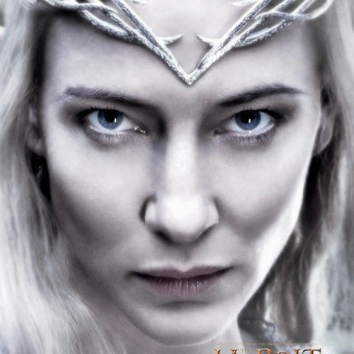 Galadriel hypnotizes with new Hobbit: The Battle of the Five Armies poster