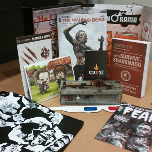 Loot Crate October 2014 Nerd Box Review