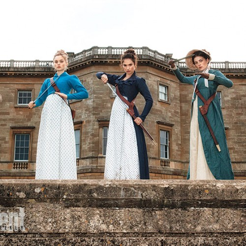 Pride and Prejudice and Zombies get a first look
