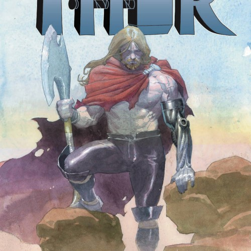 Thor loses arm and female Thor rises in Thor #2