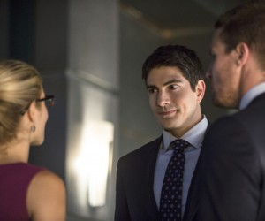 arrow season 3 episode 1 the calm - brandon routh ray palmer atom