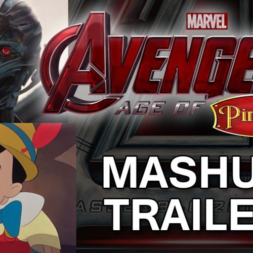 Avengers: Age of Ultron and Pinocchio get a mashup trailer