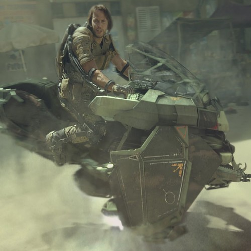 Call of Duty: Advanced Warfare's live-action trailer is all kinds of crazy
