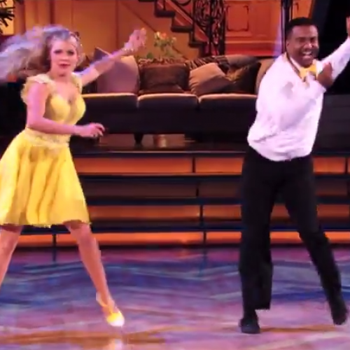 Alfonso Ribeiro gives us what we want on Dancing with the Stars!