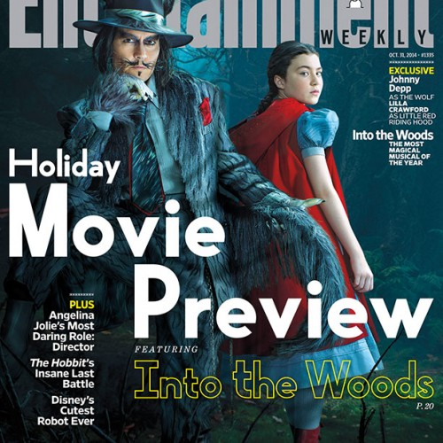 First look at Johnny Depp as the Wolf in Disney's Into the Woods