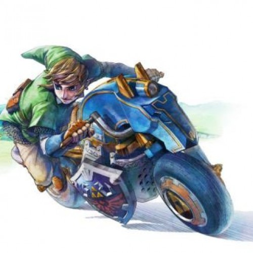 Link is coming to Mario Kart 8