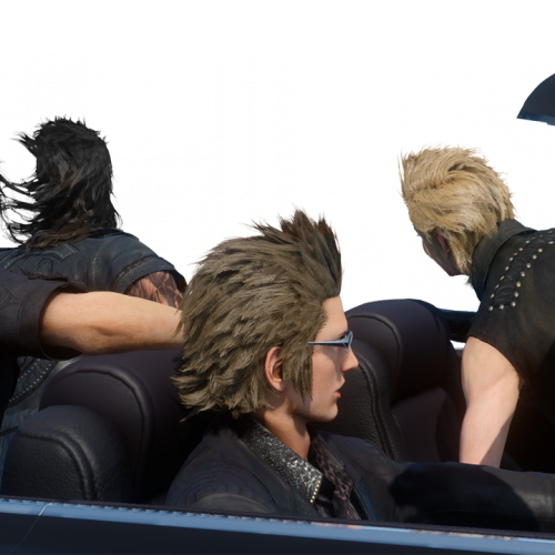 Make your own Final Fantasy XV Car Meme and share them on Twitter!