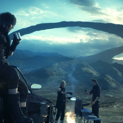 Watch Final Fantasy XV's 10-minute open world gameplay video