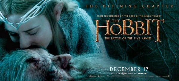 hobbit battle of five armies banner galadriel gandalf