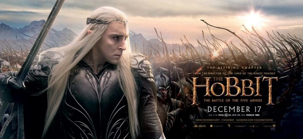 hobbit battle of five armies banner thranduil