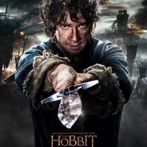 Bilbo Baggins ready for battle in new The Hobbit: The Battle of the Five Armies poster