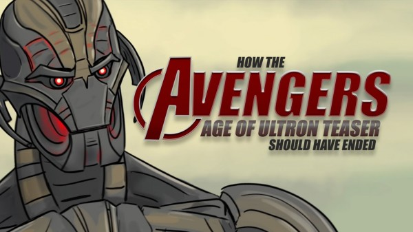 how the avengers age of ultron teaser should have ended