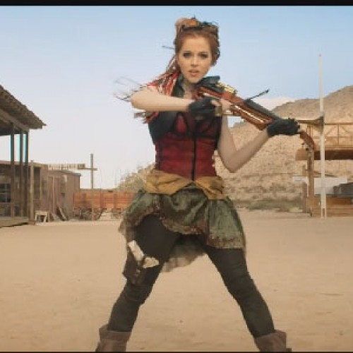 Lindsey Stirling goes steampunk with 'Roundtable Rival'