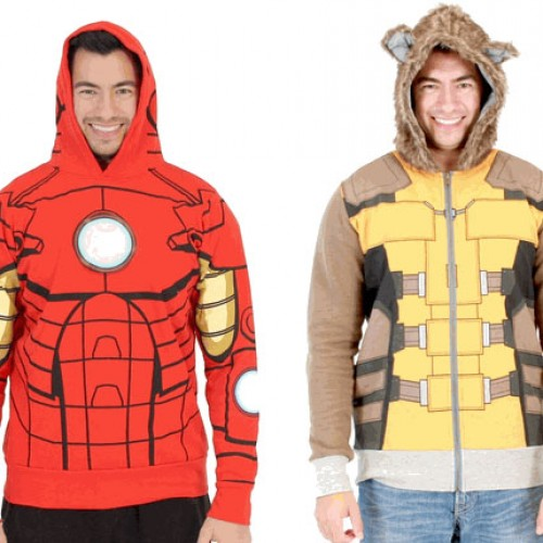 Contest: Exclusive Iron Man and Rocket Raccoon Hoodies Giveaway