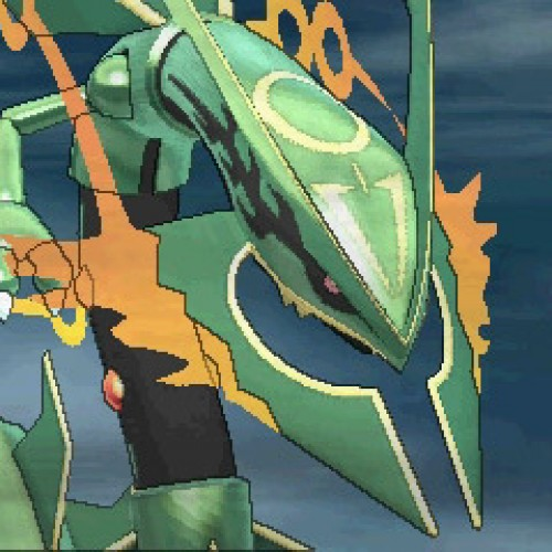 Mega Rayquaza is not someone you want to mess with in Pokémon Omega Ruby and Pokémon Alpha