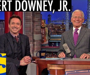 robert downey jr david letterman