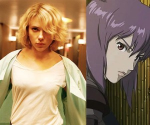 scarlett johansson ghost in the shell major kusanagi