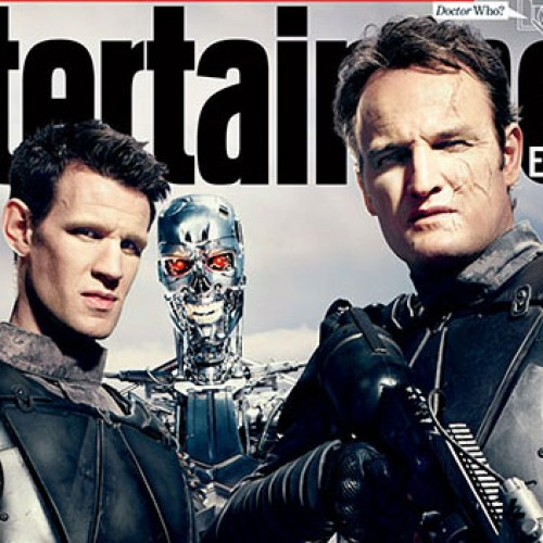 Terminator: Genisys EW covers feature Emilia Clark, Matt Smith, Jason Clarke and Jai Courtney