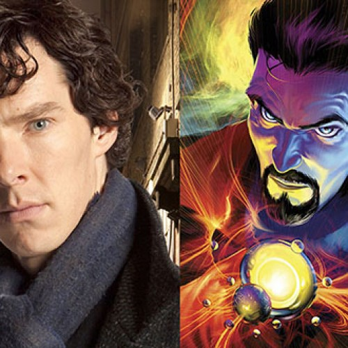 Benedict Cumberbatch as Doctor Strange fanart