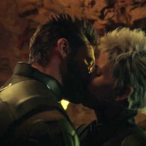 Wolverine and Storm make out in X-Men: Days of Future Past deleted scene