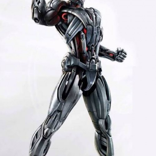 Ultron in all his glory in Avengers: Age of Ultron promo art