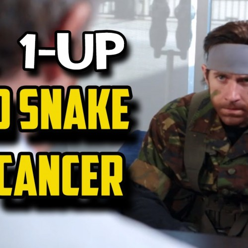Solid Snake visits doctor and finds out he has cancer