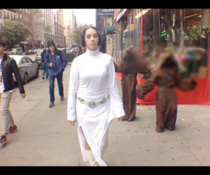 10 hours of walking princess leia nyc