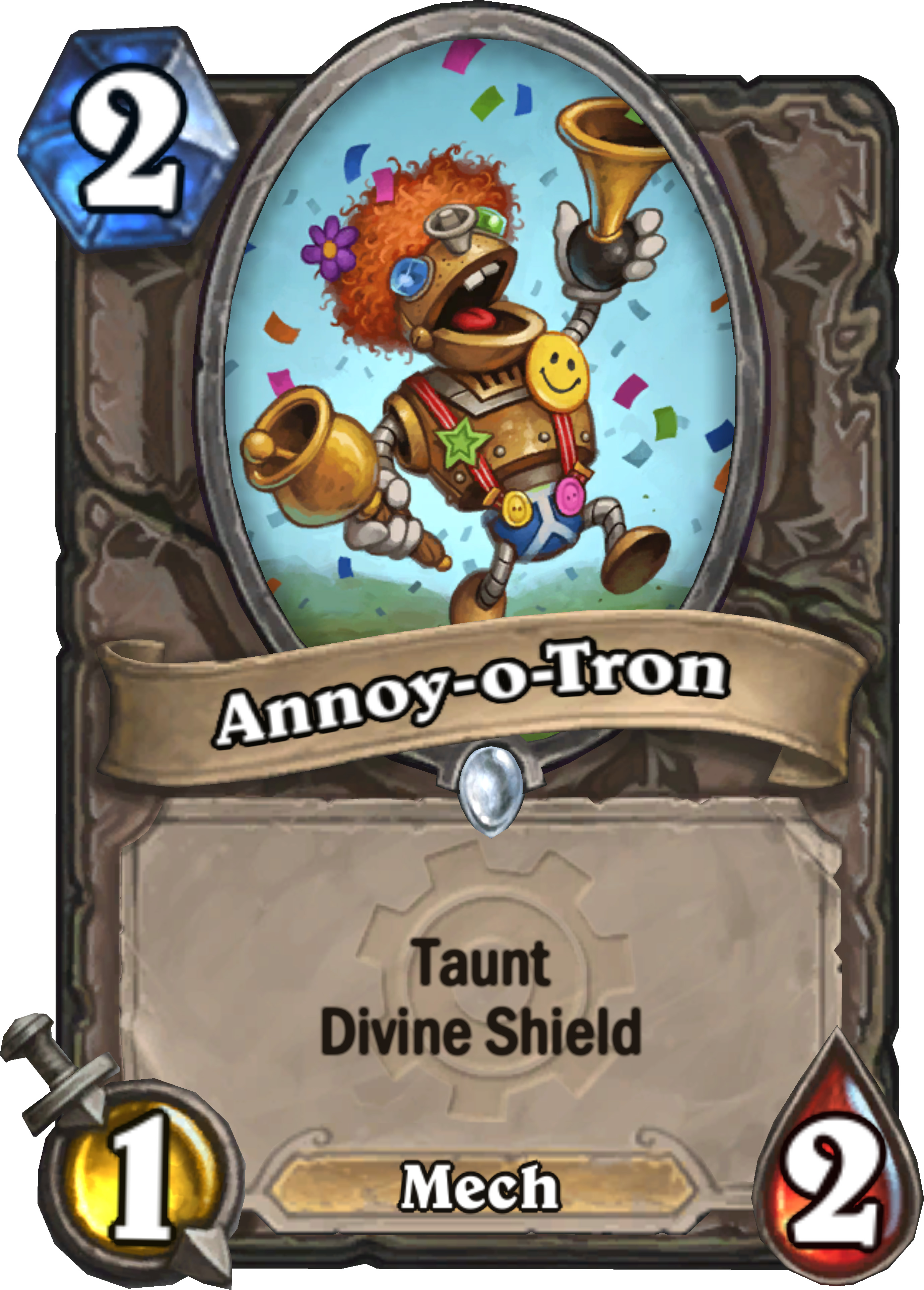 Why did Hearthstone make the crap that is mechs?