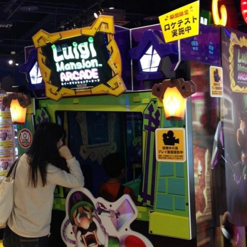 There is a Luigi's Mansion Arcade game being developed by Capcom