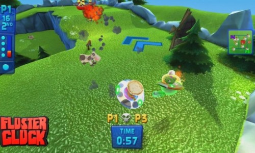Fluster Cluck review – Please choke this chicken