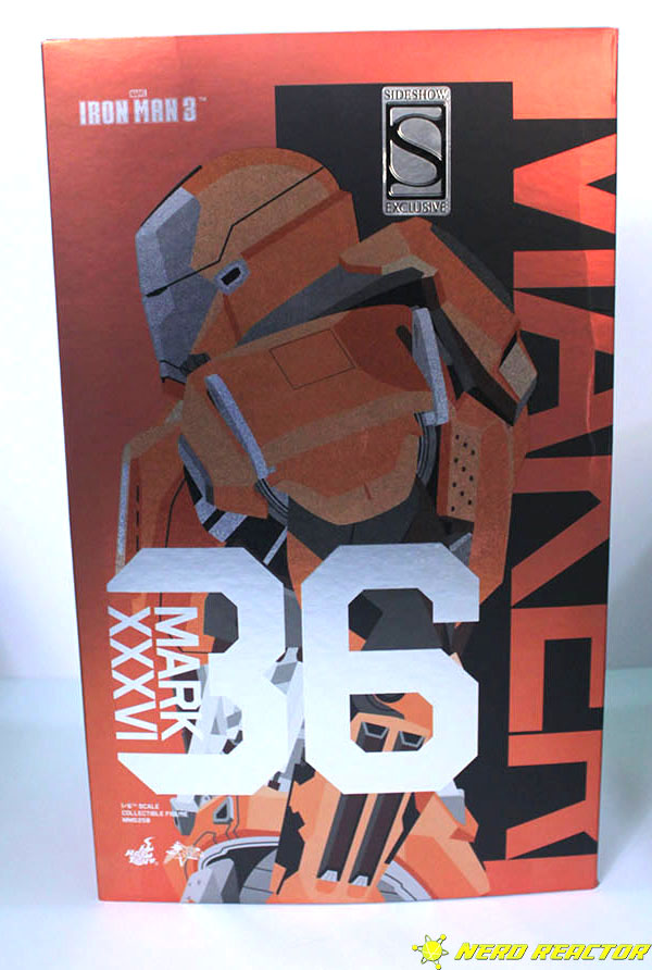Hot Toys Sideshow Iron Man Peacemaker - 01