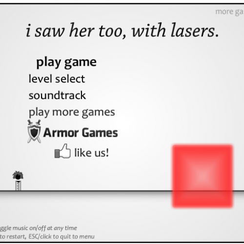 Indie Quickies: i saw her too, with lasers