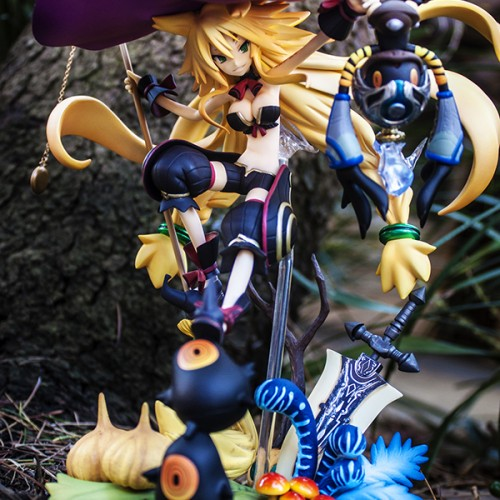 'Witch and the Hundred Knight' Metallia PVC statue looks amazing