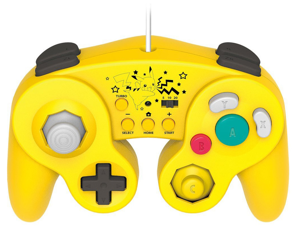 mario luigi and pikachu themed gamecube controllers for. Black Bedroom Furniture Sets. Home Design Ideas