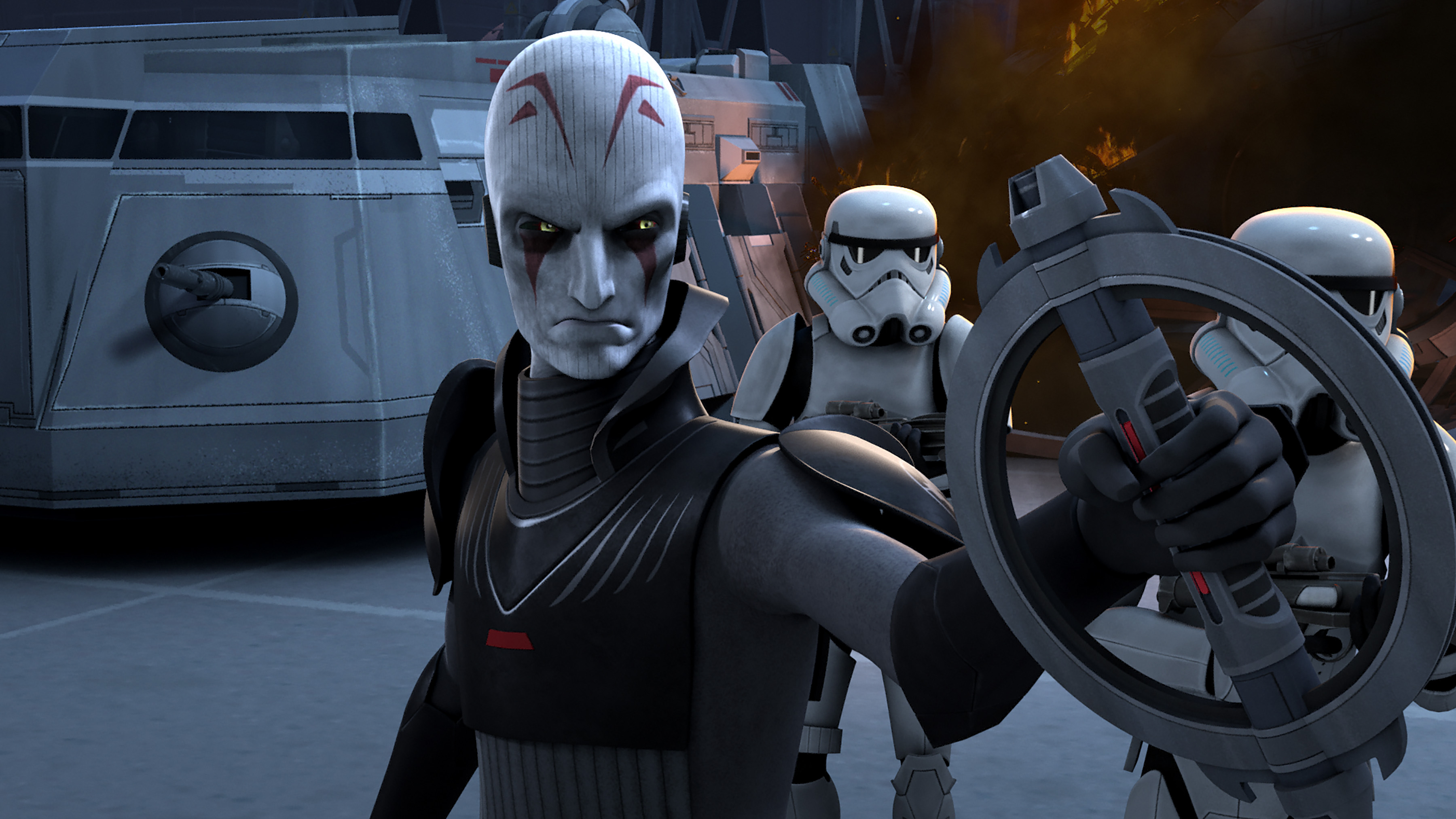The upcoming star wars rebels will be a two-parter. the first part is