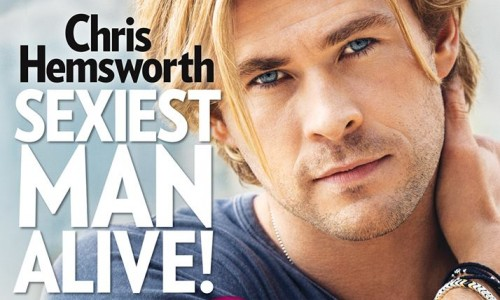 Chris Hemsworth named 'Sexiest Man Alive' by People Magazine