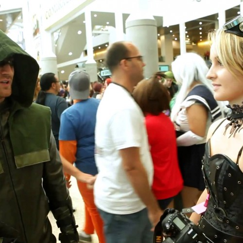Geeky pick up lines at Comikaze Expo 2014