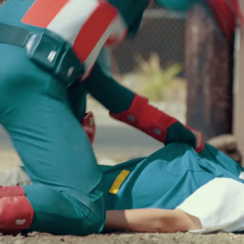 Captain America kicks the crap out of Ash Ketchum