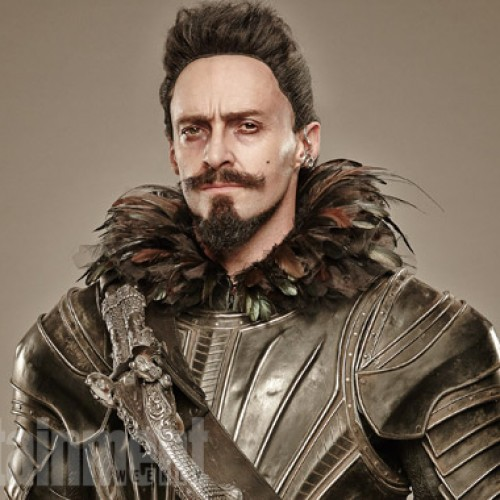 Check out Hugh Jackman as the infamous pirate, Blackbeard