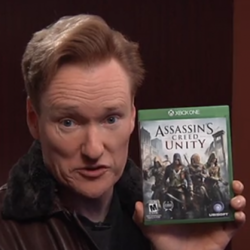 Clueless Gamer: Conan reviews 'Assassin's Creed: Unity'