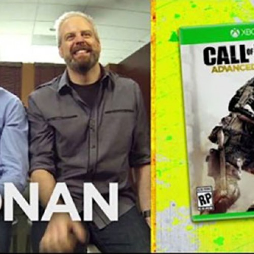 Conan plays Call of Duty: Advanced Warfare in Clueless Gamer
