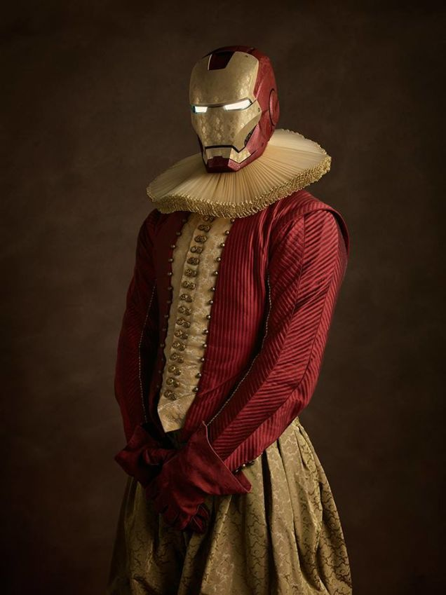 cosplay renaissance iron man