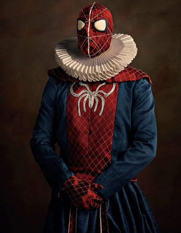 cosplay renaissance spider-man