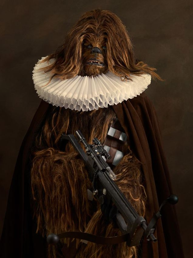 cosplay renaissance star wars chewbacca