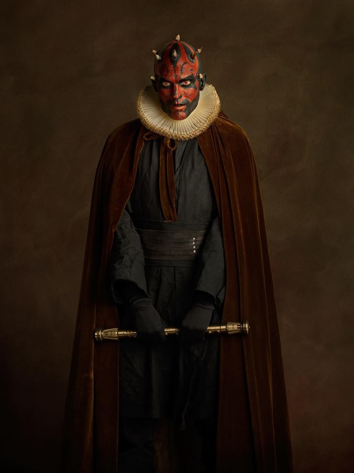 cosplay renaissance star wars darth maul