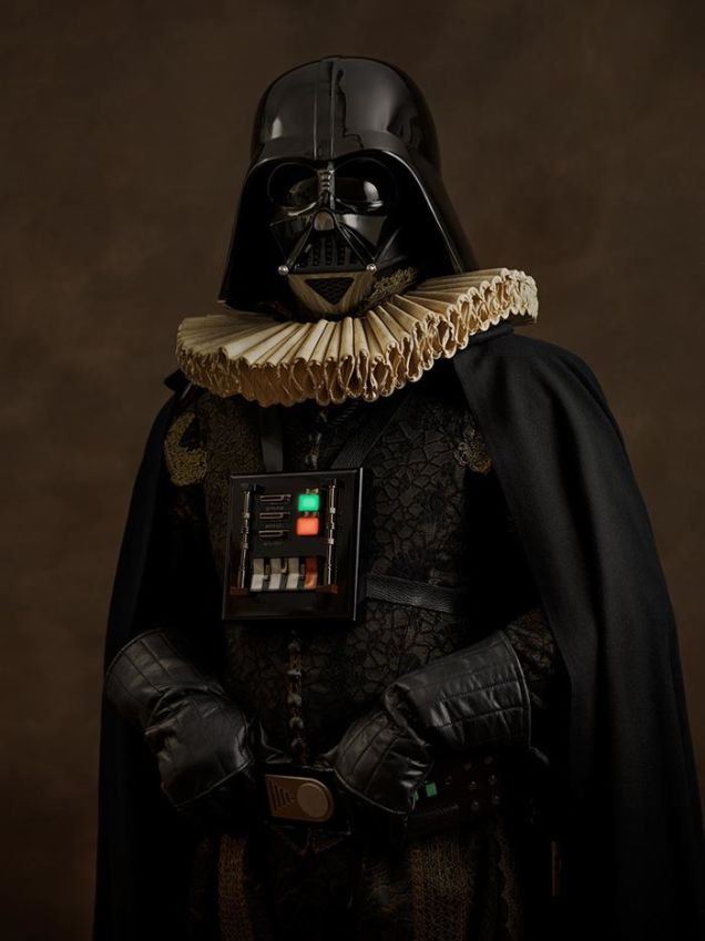 cosplay renaissance star wars darth vader