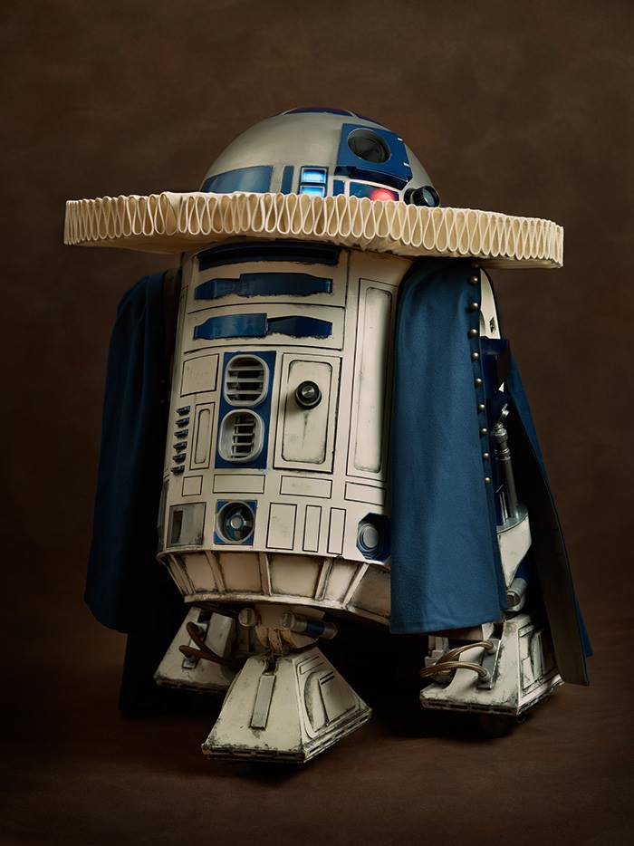 cosplay renaissance star wars r2-d2
