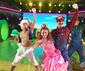dancing with the stars mario peach duck dynasty