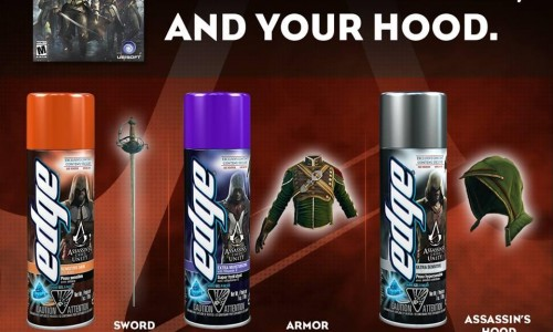 Edge Shave Gel to include exclusive Assassin's Creed Unity DLC