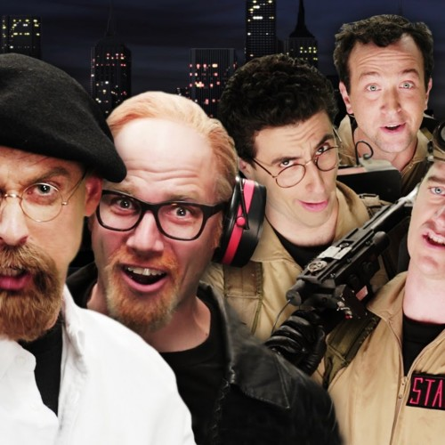 Ghostbusters vs Mythbusters in Epic Rap Battles of History